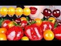 ASMR RECIPE CANDIED FRUITS MUKBANG 초간단 레시피 포함체리, 금귤, 딸기 탕후루 먹방 TANGHULU NO TALKING EATING SOUNDS
