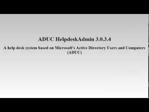 ADUC HelpdeskAdmin Download
