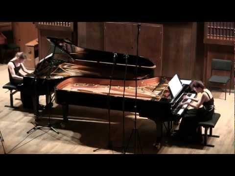 "Saint-Saëns ""Danse macabre"" for two pianos, op.40"