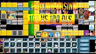GROWTOPIA[CASINO 100 VS 100 DLS]