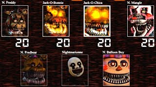 Five Nights At Freddy S 4 HE Custom Night Jumpscares