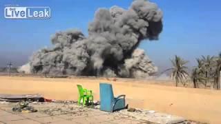 Bombardování ISIS - Sýrie