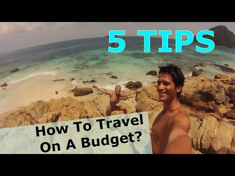 Cheap ways to travel the world! Around the world in a budget.