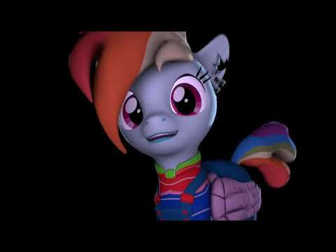 Wanna Play? Rainbow Factory - Apple eyes - Pinkamena [JULIYA]