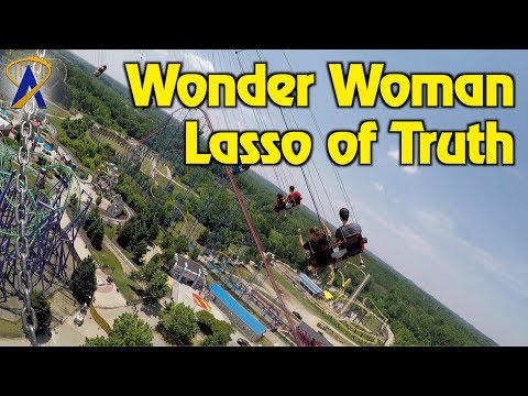 Wonder Woman: Lasso of Truth at Six Flags America