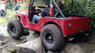 Video 1947 Jeep Willys CJ2A Rock Crawler Build Interview and Trail Ride download MP3, 3GP, MP4, WEBM, AVI, FLV September 2018