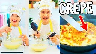 CREPE CUP COOK OFF - Naz VS Sockie - NORRIS NUTS COOKING