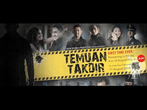 Temuan Takdir premieres on AirAsia from 8 - 10 August