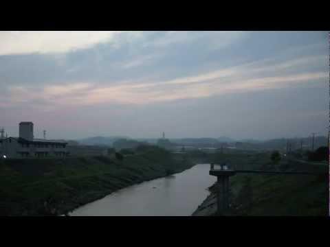 郡山の夜明け Dawn is coming in Koriyama,Fukushima prefecture