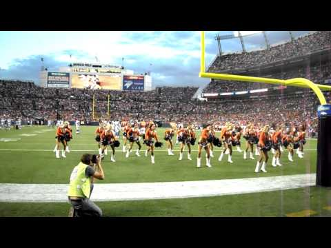 "Denver Broncos Cheerleaders perform ""Not Myself Tonight"""