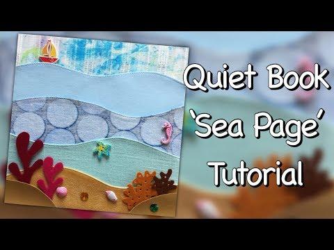 Quiet Book 'Sea Page' Tutorial