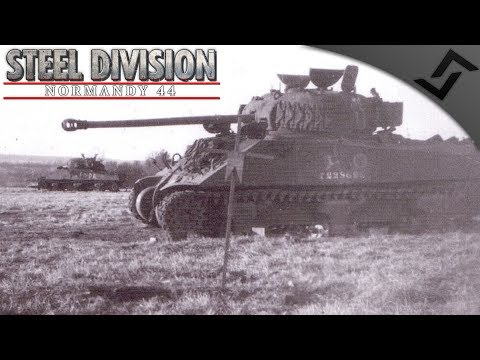 Polish Armoured vs Panzer Lehr - Steel Division: Normandy 44 Multiplayer Gameplay