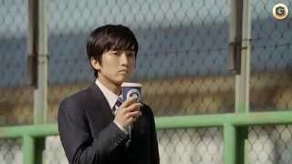 2013年度、いちばんともいえる、感動CMです。 大和田健介さんの繊細なお...