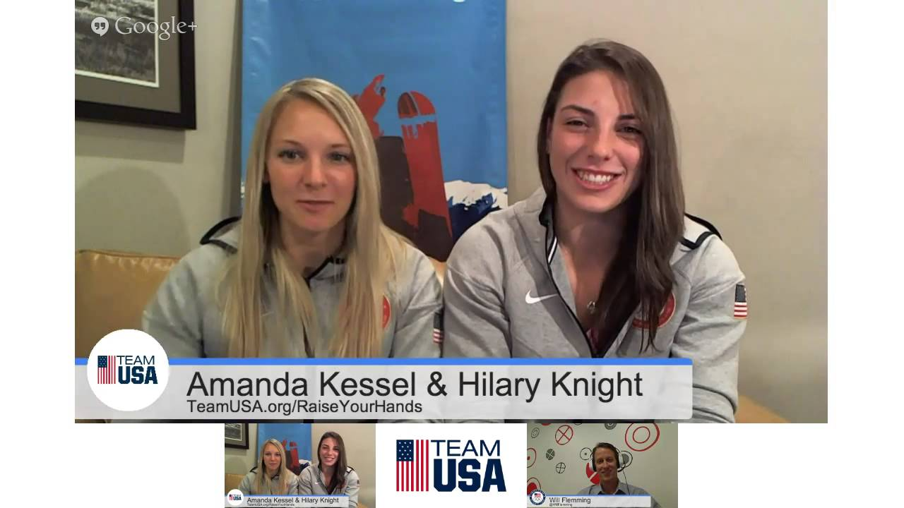 Team USA #MediaSummit Hangout On Air with Amanda Kessel & Hilary ...