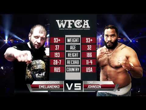 Александр Емельяненко vs Тони Джонсон / Emelianenko vs. Johnson