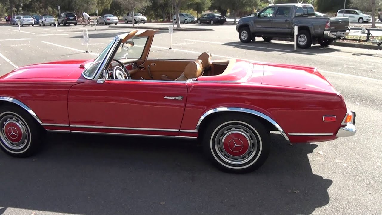 1971 Mercedes 280 SL for sale by Precious Metals Classic Cars San ...