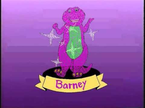 Barney Home Video logo Barney & the Backyard Gang Version ...