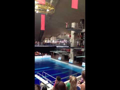 Montreal 2012 - 10 Meter Female Diving