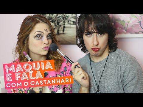 Maquia e fala com Felipe Castanhari (vida de Youtuber, começo do Nostalgia…) • Karol Pinheiro