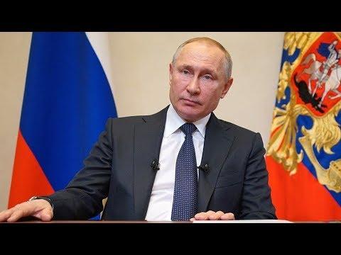 Выступление Владимира Путина перед началом совещания с правительством. Полное видео