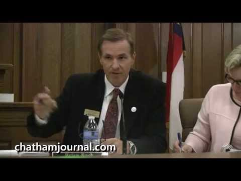 Debate question about Chatham County School Funding