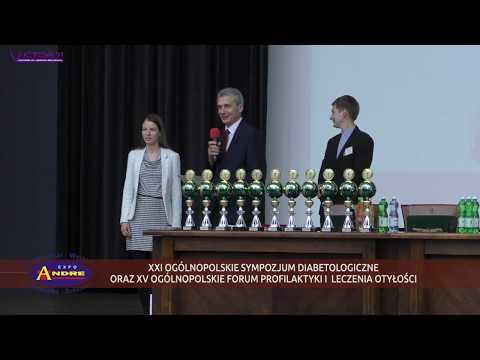 XXI OGÓLNOPOLSKIE SYMPOZJUM DIABETOLOGICZNE nagrody