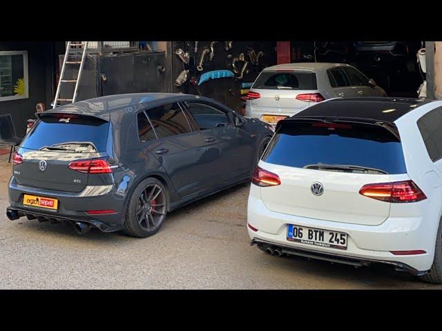 VW GOLF 7 GTİ VE R DÖNÜŞÜM PROJELERİ