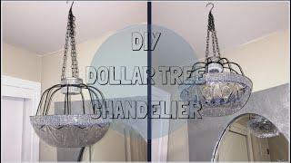 $6.00 DIY Dollar Tree Lamp/Chandelier