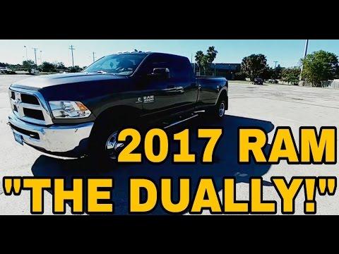 2017 RAM 3500 Cummins Dually!  What a truck!  Full Review