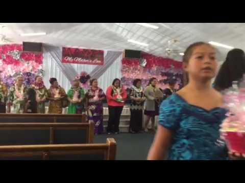 Samoa-Tokelau 2017 Mother's Day is
