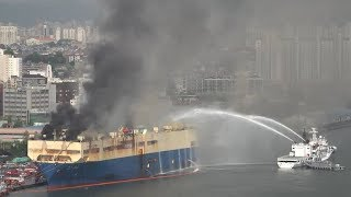 Catastrophic fire On 21 May 2018, at vessel Auto Banner