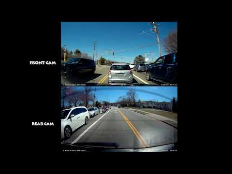 Two VIOFO A119 Dash Cams - FRONT & REAR Test