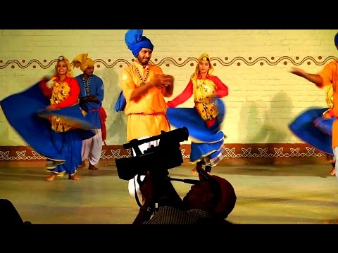 Haryana Folk Dance Performance at Shilparamam in Hyderabad | HD Video