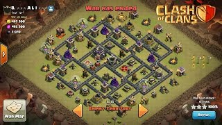 How To 3 Stars This Popular (TH9 ANTI HGHB & GOVAHO) WAR Base | With HPHB Strategy | Clash Of Clans