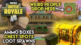 Where Is The Loot? | Tomato Town | Ammo Boxes, Chest Spots, and Loot Spawns | Fortnite Battle Royale