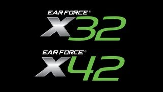 turtle beach ear force wireless headsets x32 and x42 features