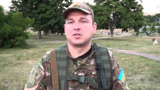 Бойцы батальона Харьков-1 о массовой драке на Отакара Яроша  в ночь с 11 на 12 июня