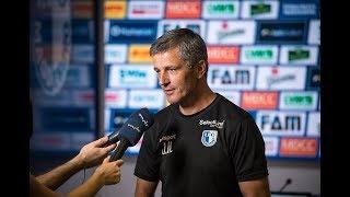 Pressekonferenz vor dem Spiel SC Paderborn 07 gegen 1. FC Magdeburg