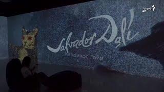 نمایش آثار سالوادور دالی در روسیه
