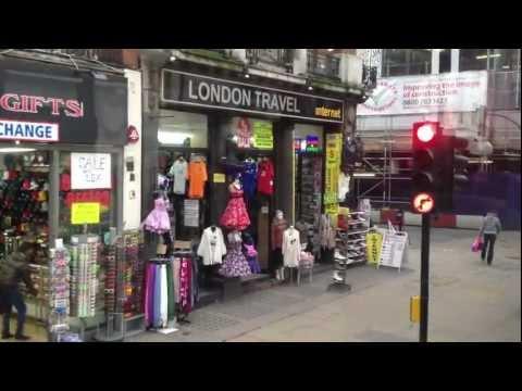 Bus Ride down Oxford Street in London (HD) - Must Watch