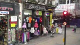 Bus Ride down Oxford Street in London (HD) - Must Watch