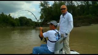 видео рыбалка на щуку-аллигатора