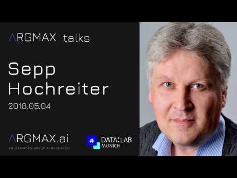 argmax talks: Sepp Hochreiter