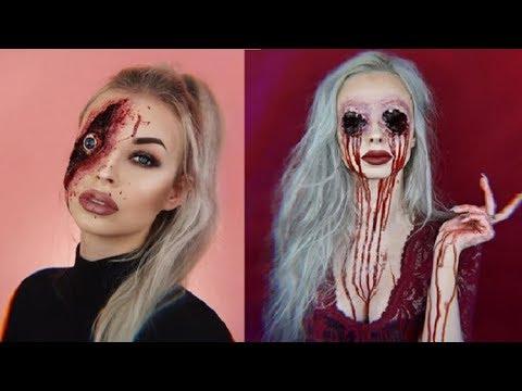 Z-O-M-B-I-E-S   Zombie Make-up...