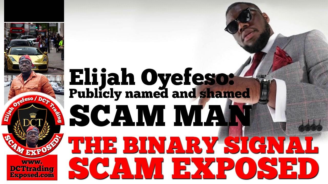 Elijah binary options scam