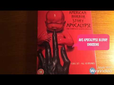 American Horror Story Apocalypse Blu-Ray Unboxing