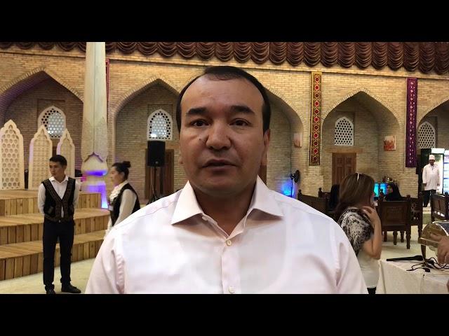 Ozodbek Nazarbekov. Shahrisabz. Exclusive!