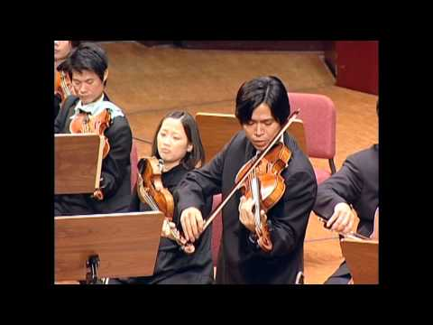 Paul Hindemith: Trauermusik for viola and string orchestra .Violist, Scott Lee with TC orchestra.mp4