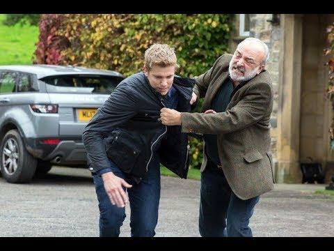 Emmerdale - Lawrence White Beats Up Robert Sugden (28th November 2017)