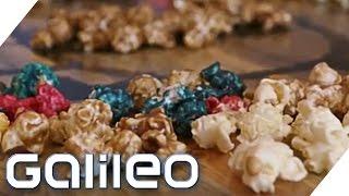 Food-Reise durch die USA: Schärfstes Popcorn und essbare Legosteine | Galileo | ProSieben